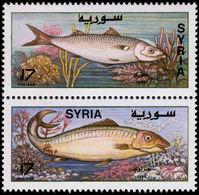 Syria 1997 Fish Unmounted Mint. - Syria
