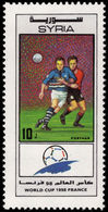 Syria 1998 World Cup Football Unmounted Mint. - Syria