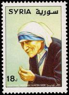 Syria 1998 Mother Teresa Unmounted Mint. - Syria