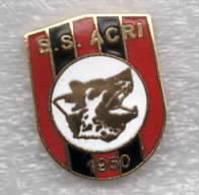 SS Acri Cosenza Calabria Calcio Distintivi FootBall Soccer Spilla Pins Italy - Calcio