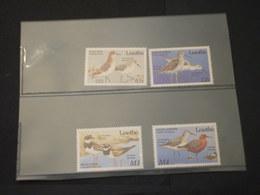 LESOTHO - 1989 UCCELLI 4 VALORI - NUOVI (++) - Lesotho (1966-...)