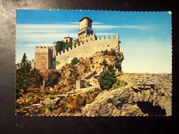 San Marino: La Prima Torre. Maxi Cartolina Cm 20 X 13,5. Anni '50/'60 - San Marino