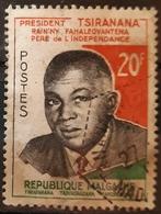 MADAGASCAR 1960 Presidente Philibert Tsiranana.. USADO - USED. - Madagascar (1960-...)