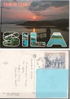 Cosenza - Saluti Dalla SILA - Tramonto Sunset - Saluti Da.../ Gruss Aus...