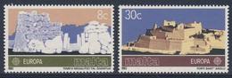Malta 1983 Mi 680 /1 YT 668 /9 SG 712 /3 ** Ggantija Megalithic Temples, Gozo (3000 V. Chr.) + Fort St. Angelo (1530) - 1983