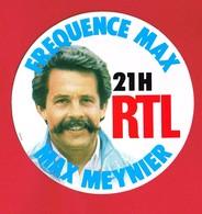 1 Autocollant RADIO RTL MAX MEYNIER - Pegatinas