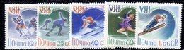 CI1071 - RUSSIA URSS 1960 , Unificato Serie 2258/2262  ***  Olimpiadi Squaw Valley - Nuovi