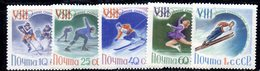 CI1071 - RUSSIA URSS 1960 , Unificato Serie 2258/2262  ***  Olimpiadi Squaw Valley - 1923-1991 URSS