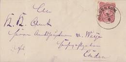 DR Brief EF Minr.33 Nachv. Stempel Oldersum 8.6. Gel. Nach Emden K1  8.6.76 - Allemagne