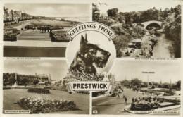 AYRSHIRE - PRESTWICK - 4 RP VIEWS Ayr52 - Ayrshire