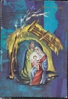 BUON NATALE - LA SACRA FAMIGLIA - VIAGGIATA 1966 - Natale