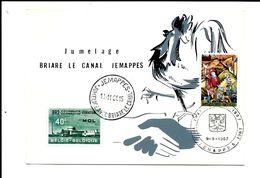 Jumelage  De  Briare-le-Canal  &  Jemappes  1967 - Mons