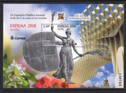 36.- SPAIN 2018 EXFILNA 2018 - NATIONAL PHILATELIC EXHIBITION - SEVILLA - 1931-Hoy: 2ª República - ... Juan Carlos I