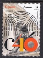 47.- SPAIN 2018 40 Years Of The Constitution - 1931-Hoy: 2ª República - ... Juan Carlos I