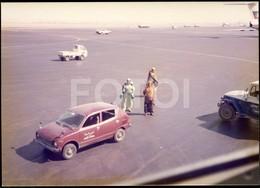 1978 REAL PHOTO FOTO HONDA CIVIC JEDDAH AIRPORT SAUDI ARABIAN - Aviation