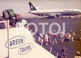 1978 REAL PHOTO FOTO PLANE AVION HZ-AHB TRISTAR LOCKHEED L-1011 AIRCRAFT AIRPORT AIRLINE SAUDIA SAUDI ARABIAN ARABIA BT2 - Luftfahrt