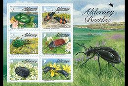 ALDERNEY 2013 Alderney Beetles - Alderney