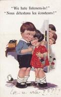 ENFANTS - We Hate Listeners-in ! - Humorkaarten
