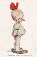 ENFANTS - Farver's Lost His Slippers - Lucie Attwell - Humorkaarten