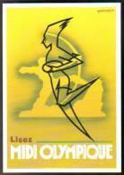 Carte Postale : Lisez Midi Olympique - Illustration Foré (1947) - Fore