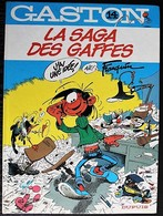 BD GASTON - 14 - La Saga Des Gaffes - Rééd. 1983 - Gaston