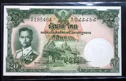 Thailand Banknote 20 Baht Series 9 Type 6 P#77d SIGN#40 UNC - Thailand