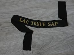 BANDE DE BACHI. MARINE FRANCAISE. LAC TONLE SAP. - Casques & Coiffures