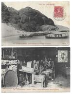 Asie Indochine Lot De 2 CPA - Cartes Postales