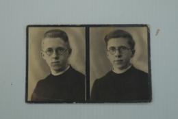 Wo2 Doodsprentje Foto Tweeling Van Waes Overmere Bombardement St Venant 1940 - Religion & Esotérisme