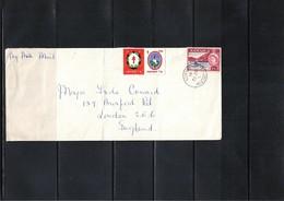 Jamaica 1961 Interesting Airmail Letter - Jamaica (1962-...)