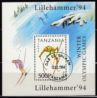 1994 LILEHAMMER - Tansania - MiNr: 1712 Block 239 - Winter 1994: Lillehammer