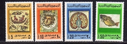 LIBYA LIBIA REPUBLIC GADDAFI ISSUE GHEDDAFI LAR 1976 POSTAGE DUE STAMPS SEGNATASSE TAXE TASSE COMPLETE SET SERIE MNH - Libia