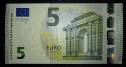 5 EURO W002A6 DRAGHI GERMANY SERIE WA Perfect UNC - 5 Euro