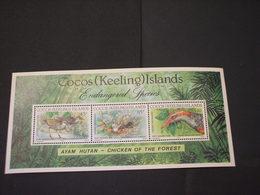 COCOS - BF 1992 NATURA - NUOVI(++) - Isole Cocos (Keeling)