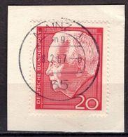 Briefstueck, Luebke, OT Mainz, 1967 (74807) - [7] République Fédérale