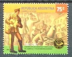 50 AÑOS DE FOECYT, CORREOS Y TELECOMUNICACIONES. ARGENTINA AÑO 2007, GOTTIG JALIL GJ 3588 MNH NUEVO - LILHU - Argentine
