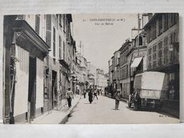 Vue Rare. Coulommiers. Rue De Melun. Animée - Coulommiers