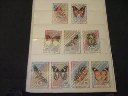 COMORES - 1994 FARFALLE 9 VALORI - NUOVI(++) - Isole Comore (1975-...)