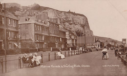 RPPC REAL PHOTO POSTCARD MARINE PARADE - Dover