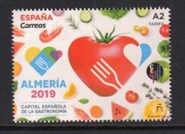 11.- SPAIN ESPAGNE 2019 Almería 2019, Spanish Capital Gastronomy - 1931-Hoy: 2ª República - ... Juan Carlos I