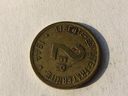 293/ 2 Francs 1944 France Libre - Frankreich