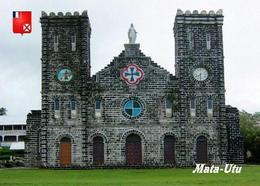 Wallis And Futuna Mata Utu Cathedral New Postcard - Wallis E Futuna