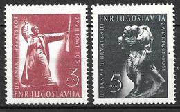 Yugoslavia 1951 - Croatian Insurrection,10th Anniversary - 1945-1992 Socialist Federal Republic Of Yugoslavia