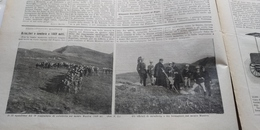 DOMENICA DEL CORRIERE 1906 COSTANZANA VERCELLI BOVEGNO BAGOLINO - Libros, Revistas, Cómics