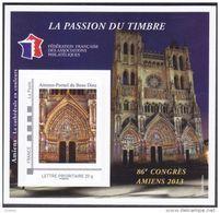 FFAP N°   7 De 2013 - Bloc Dentelé Autoadhésif - La Passion Du Timbre - 86 ème Congrès à Amiens - FFAP