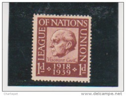 League Of Nations Stamps  MNH 1919-1939 - Nuovi