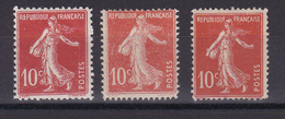 FRANCE /SEMEUSE  10 C ROUGE  NEUF SANS CHARNIERE  ET CHARNIERE - Other