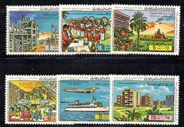 CI1378 - LIBIA LYBIA 1980 , Yvert  N. 874/879  *** Rivoluzione - Libia