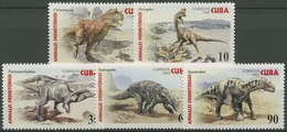 Kuba 2005 Prähistorische Tiere 4667/71 Postfrisch - Kuba