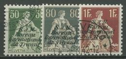 Int. Arbeitsorganisation (BIT/ILO) 1923 Freim. Mit Aufdruck 8/11 Z Gestempelt - Service